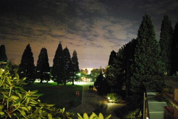Nightshot from Hotel at Disneyland Paris by FunnyTrickster
