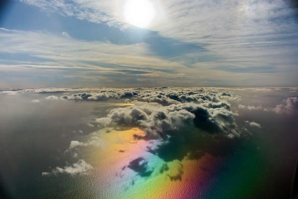 rainbow sky by lianna