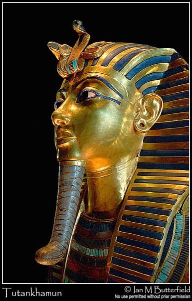 King Tutankhamun by ianbutty