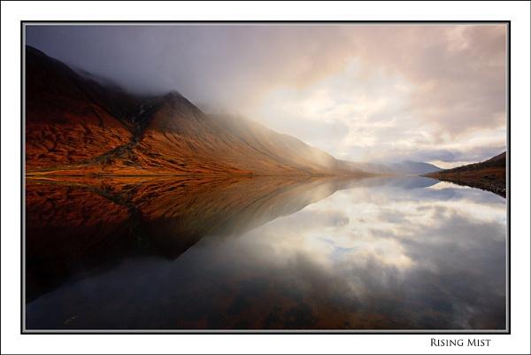 Rising Mist... by Scottishlandscapes