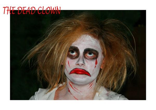 The Dead Clown by cheeky