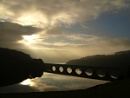 ladybower bridge at sunrise