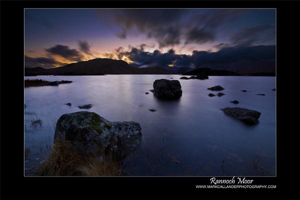 Last Light At Rannoch Moor by Mark_Callander