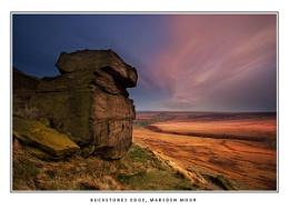 Buckstones Edge, Marsden Moor