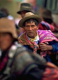 Bolivian Man