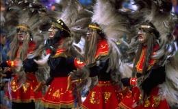 carnival in Bolivia