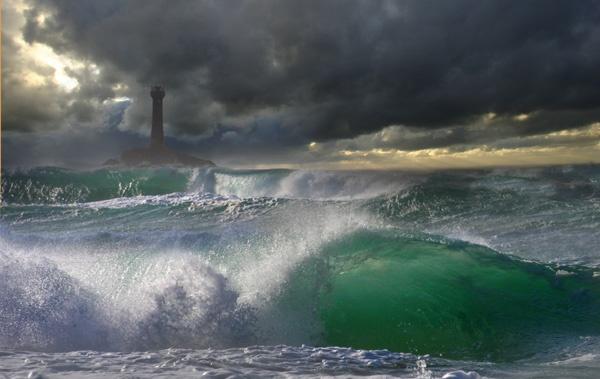 Longship Storm by natureslight