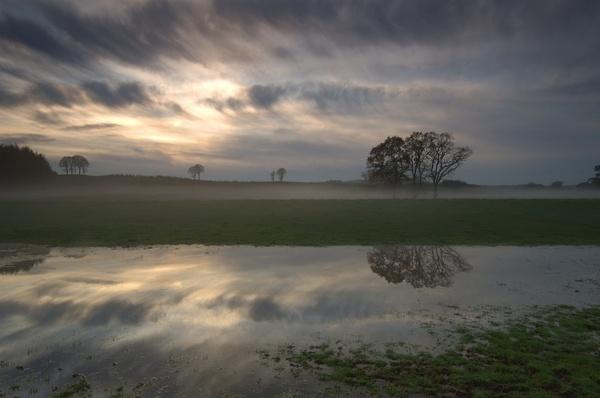 sunset mist by hotchef23