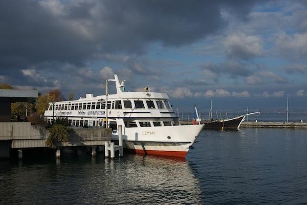 Ferry Evian <> Lausanne at Evian by JasperD
