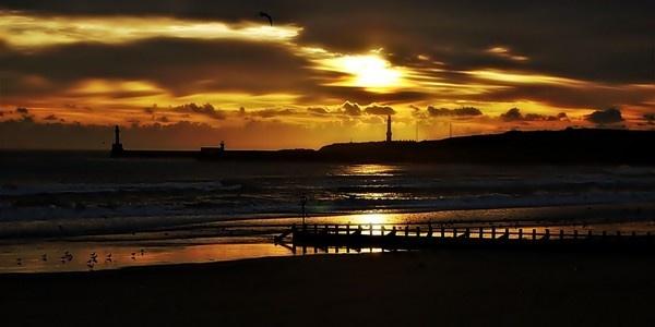 Sunrise At Aberdeen Beach by gazb159