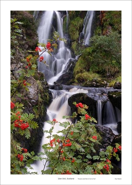 Waterfall at Corrie Fee by paulmackiemaging