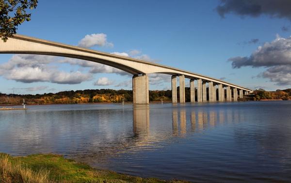 Orwell Bridge by marathonman