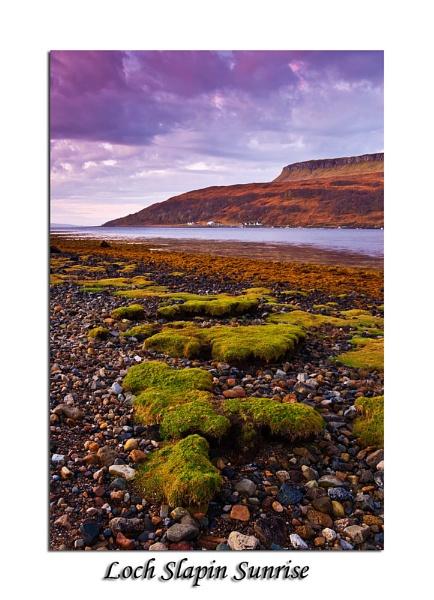 Loch Slapin Sunrise by Skinz