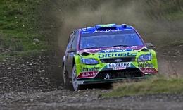 Hirvonen Rally GB 2009