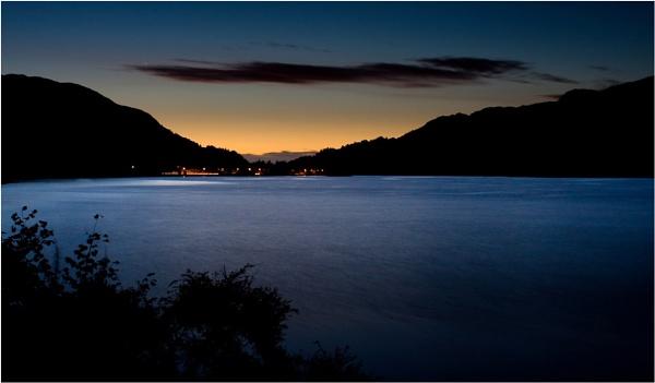 Pre-dawn Loch Earn by Steve Cribbin