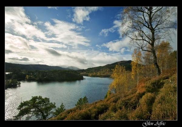 Glen Affric by fazzer
