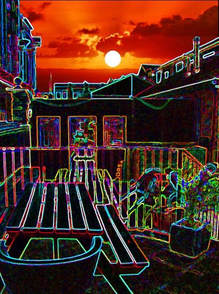Sunset Surprise by ChrisBilton