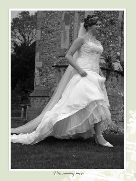 the running bride by ianrobinson