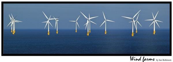 wind farm by ianrobinson