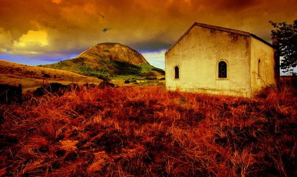Old  farm chapel by musashi