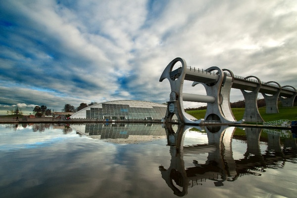 The Falkirk Wheel by kilo363