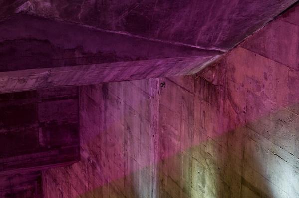 Colourful concrete by JE