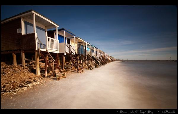 Beach Huts @ Thorpe Bay by KevinGoodchild