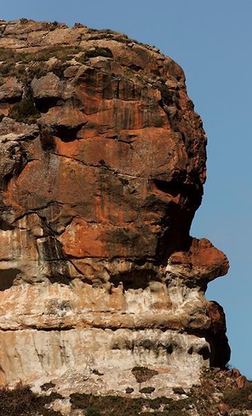 Rock Face by ShedMan