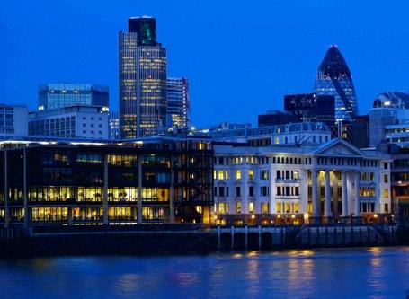 London At Dusk by MarkT19
