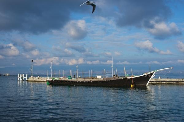 Boat and Bird by JasperD