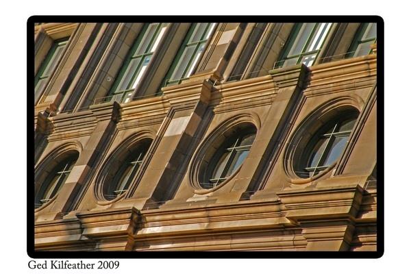 Edinburgh Windows by GedK