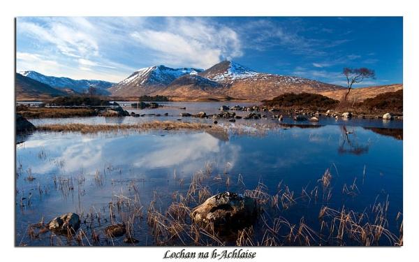 Lochan na h-Achlaise II by Skinz