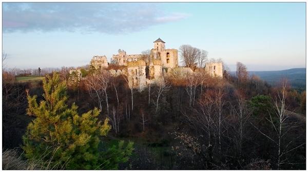 Tenczyn Castle by Kot