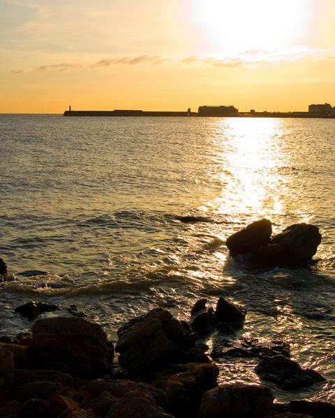 Porthcawl Pier Sunset by ASM9633