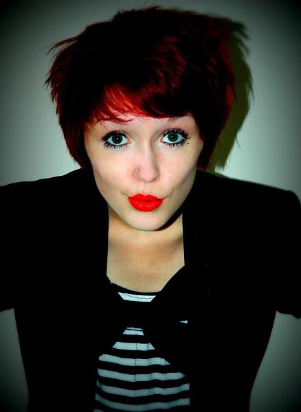 Red Lips. by kilo watt