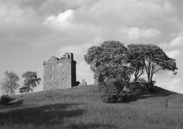 balvaird castle by simbo76