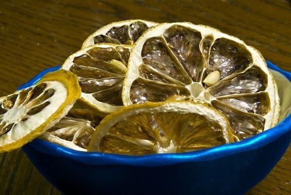 Dried Lemon Close up by John_Fields