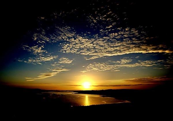 Westside Sunset by gazb159