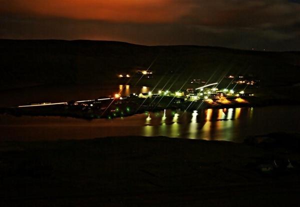 My Home Village By Night by gazb159