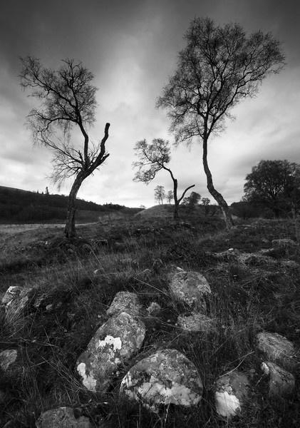 newtonmore b+w by GeorgeBuchan