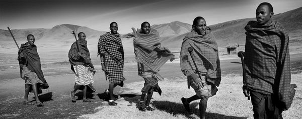 Maasai Welcome by JoshCunliffe