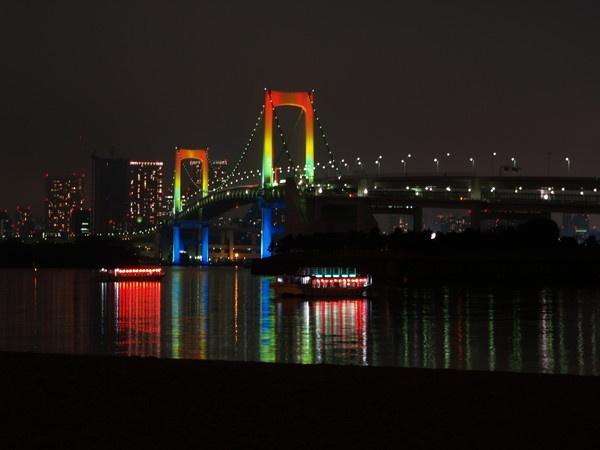 Rainbow Bridge - Japan by kevtrucker