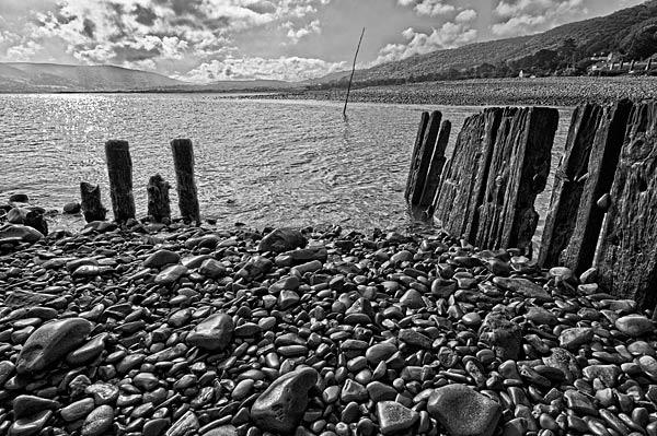 Porlock beach by manindevon