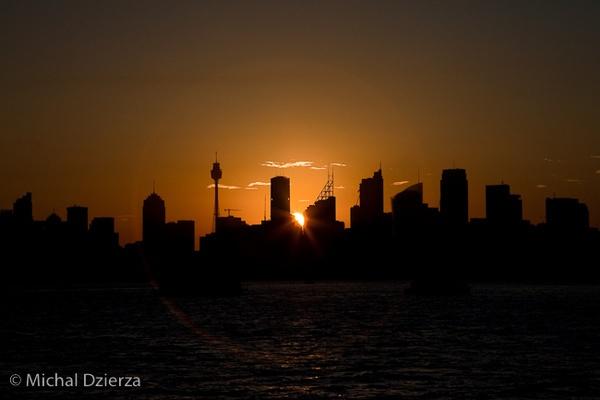Sydney Harbour by MichalD