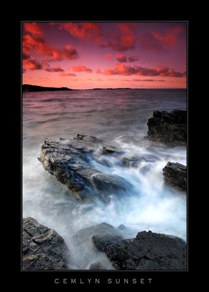 Cemlyn Sunset by Alfoto