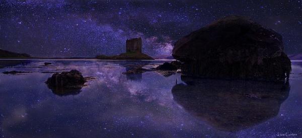 Castle Knight & Stars by looboss