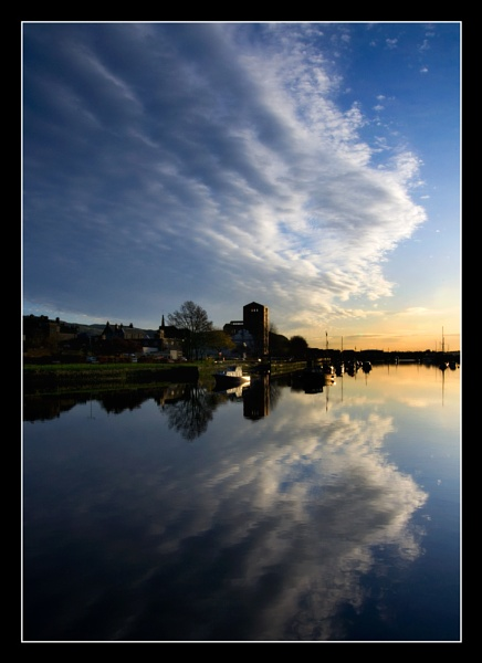 Dumbarton Morning Reflections by Boagman65