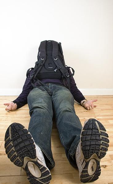 bag on head by sitan1