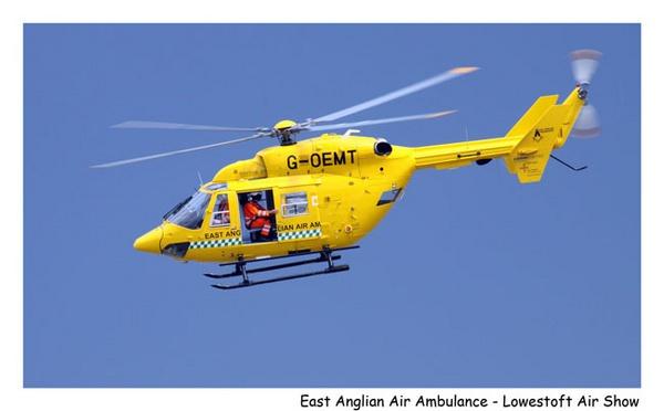 East Anglian Air Ambulance by marathonman
