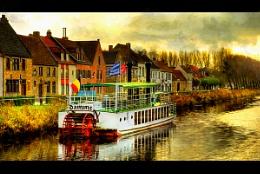 Flanders-Damme-excursionboat